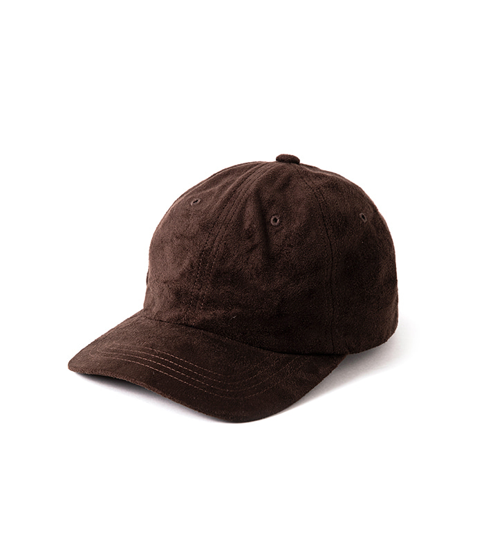 Suede Cap - Brown