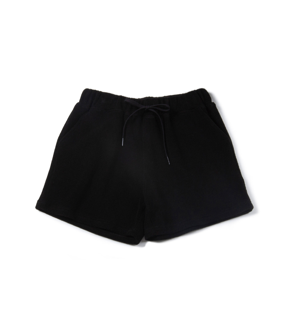 Zero Terry Shorts - Black