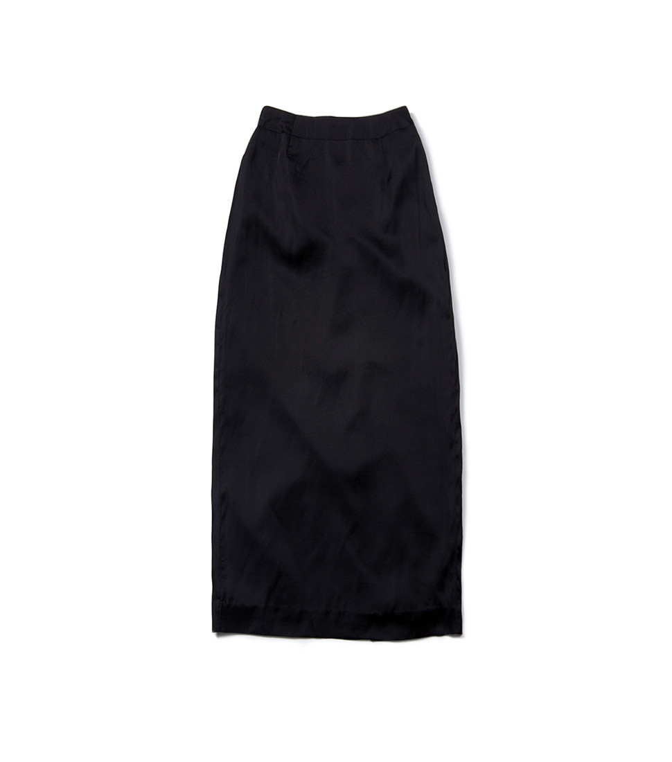 Zero H Slit Skirt - Black