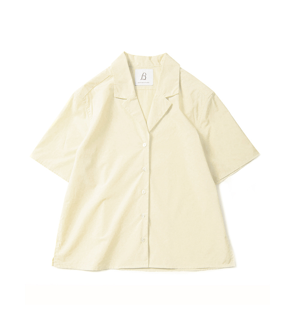Zero Half Shirts - Light Yellow