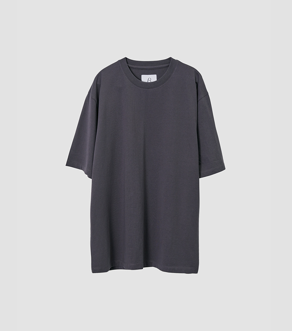 Essential T Shirt - Charcoal