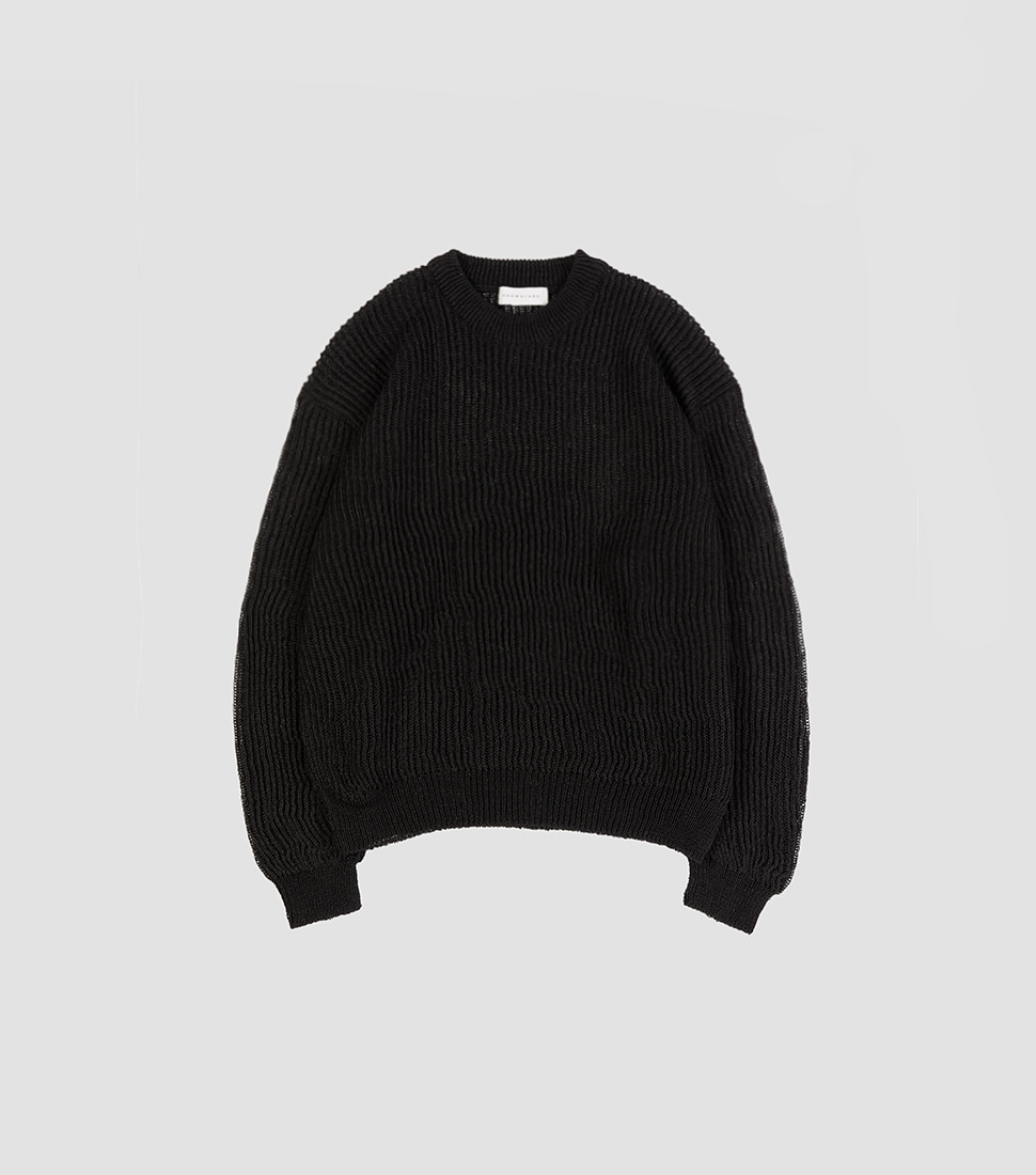 Net Sweater - Black