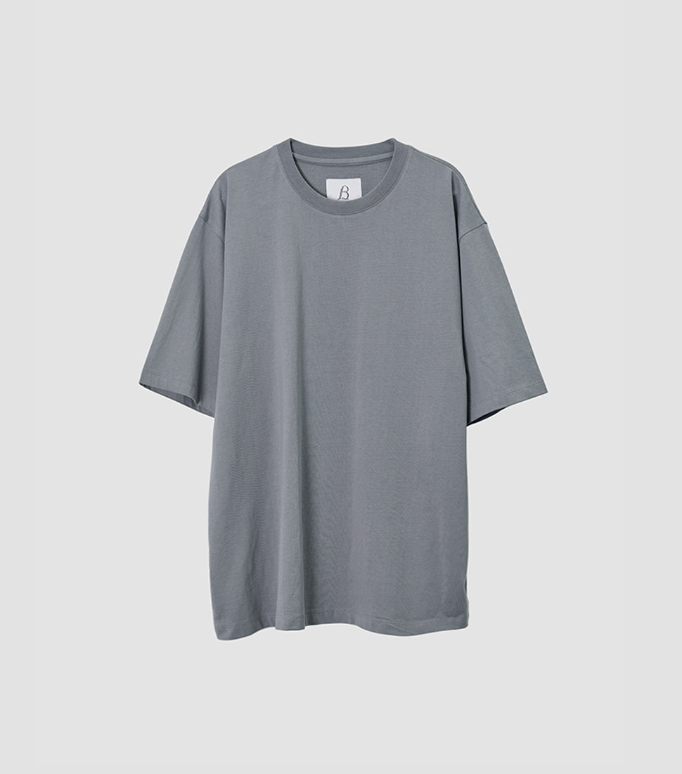 Essential T Shirt - Blue Grey